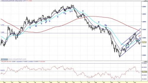 Análisis técnico del Euro Dólar 100829