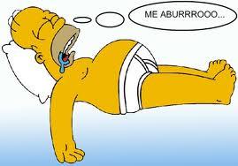 me aburro_homer